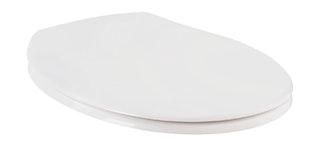 Sanitop WC-Sitz Siena Weiß mit Soft-Schließ-Komfort
