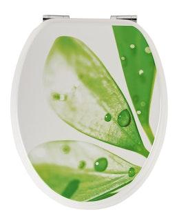 Sanitop WC-Sitz Dekor Lotusblüte mit Soft-Schließ-Komfort