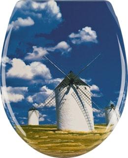 Sanitop WC-Sitz Windmühle mit Soft-Schließ-Komfort