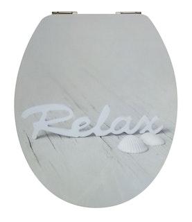 Sanitop WC-Sitz High-Gloss Dekor Relax