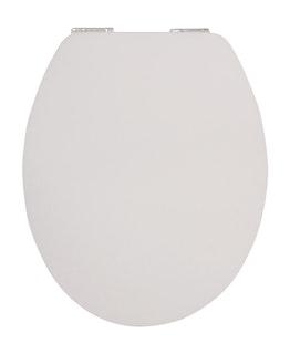 Sanitop WC-Sitz High-Gloss Real White mit Soft-Schließ-Komfort