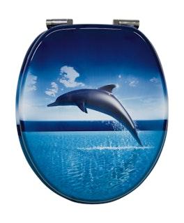Sanitop WC-Sitz Dekor Dolphin Dream