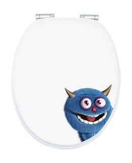 Sanitop WC-Sitz Dekor Monster Ecky