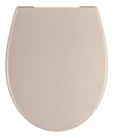 Sanitop WC-Sitz Siena beige mit Soft-Schließ-Komfort