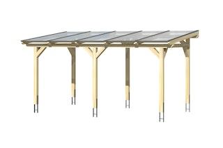 Skan Holz Siena aus Leimholz m. Mittelpfosten Breite 541 cm