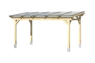 Skan Holz Sanremo aus Leimholz ohne Mittelpfosten Breite 541 cm freistehende Terrassenüberdachung