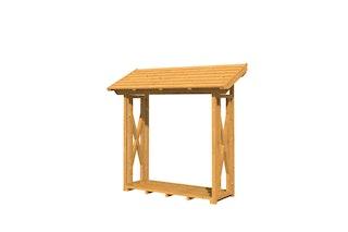 Skan Holz Holzunterstand Kaminholzunterstand Paul 1