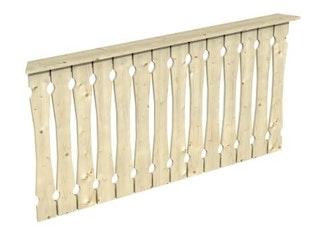 Skan Holz Brüstung Balkonschalung zu Pavillon Nice
