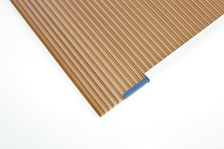 Skan Holz Dachplatten-Set in bronze