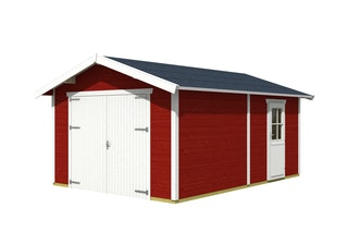Skan Holz 45 mm Garage Holzgarage Varberg 1/2/3