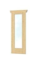 Skan Holz Panoramafenster für Gartenhaus Ostende