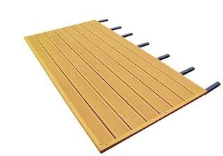 Skan Holz WPC Fußboden passend zu Pavillon Nice