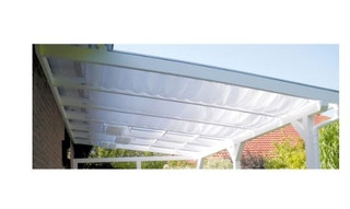 Skan Holz Sonnensegel für Terrassenüberdachung 541 cm breit