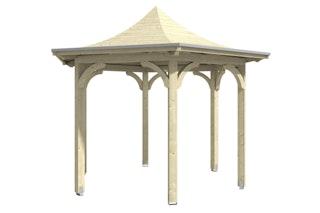 Skan Holz Pavillon Laube Versailles