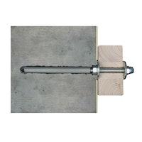 Skan Holz Wandbefestigungsset für Vordächer Größe 1