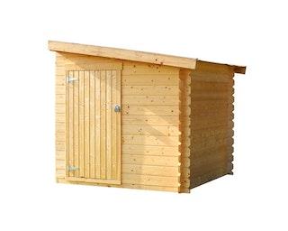 Skan Holz Anbauschuppen groß für Skan Holz Gartenhäuser Lugano, Bern, St. Moritz, Ontario