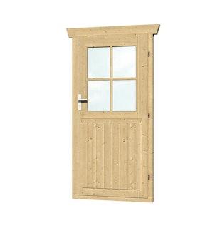 Skan Holz Einzeltür für 45 mm Blockbohlenhäuser