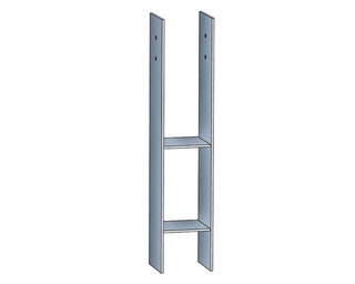Skan Holz H-Anker für 12 x 12 cm Pfosten