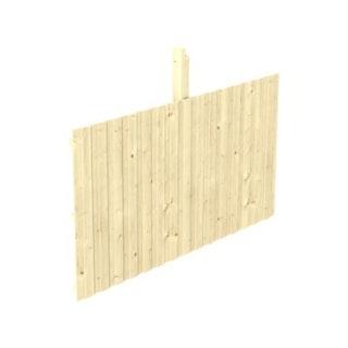 Skan Holz Rückwand für Leimholz Einzel- Carports - Deckelschalung