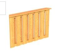 Skan Holz Brüstung Deckelschalung zu Pavillon Colmar