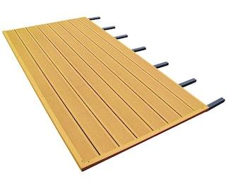 Skan Holz WPC Fußboden passend zu Pavillon Versailles