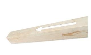 Skan Holz Pfostenverlängerung für Terrassenüberdachung/Carport aus Leimholz 12 x 12 cm