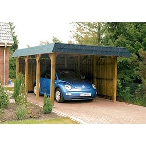 Top Skan Holz Walmdach-Carports online kaufen | Skanholz-Onlineshop.de ZT59