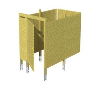 Skan Holz Abstellraum für Carports