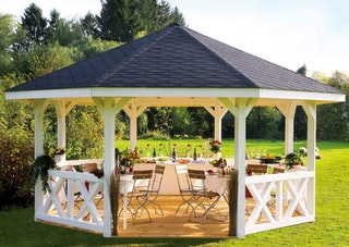 Skan Holz Pavillon Nice