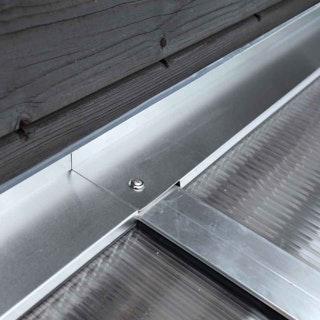 Skan Holz Wandabschlussprofil für Terrassenüberdachungen / Anlehncarports
