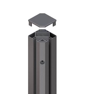 TraumGarten System Eck-Klemmpfosten (90°)