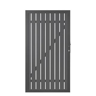 TraumGarten Alu-Einzeltor Squadra 98x180 cm