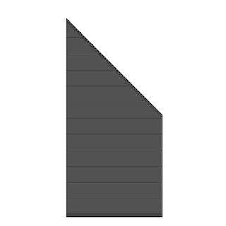 TraumGarten System Alu Classic Zaun-Anschluss-Set
