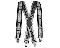 Snickers 9050 Elastische Hosenträger-schwarz-grau 0418