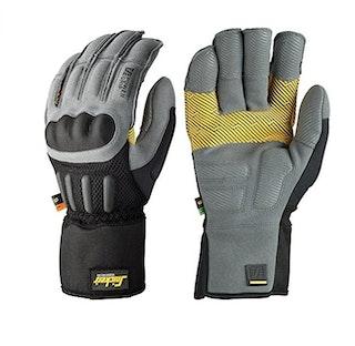 Snickers Handschuh Größe 22,9 cm Grip Grau/Schwarz