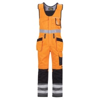 Snickers Workwear 0213 High-Vis Kombihose mit Holstertasche