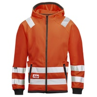 Snickers Workwear 8043 High-Vis Mikro Fleecejacke, Klasse 3
