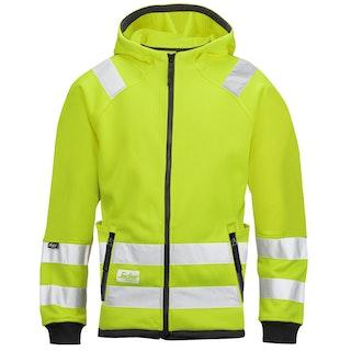 Snickers Workwear 8043 High-Vis Mikro Fleecejacke, Klasse 3