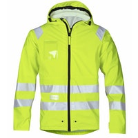 Snickers Workwear 8233 High-Vis PU Regenjacke, Klasse 3