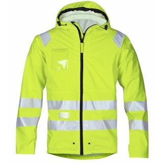 Snickers Workwear 8233 High-Vis PU Regenjacke, Klasse 3