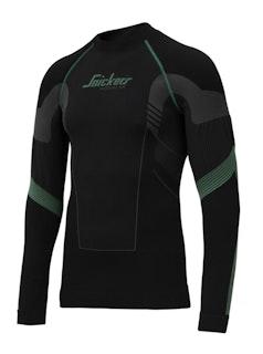 Snickers Workwear 9425 FlexiWork Langarm-Shirt, nahtlos