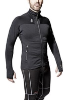 Snickers Workwear 9438 Body Mapping Mikro Fleece Arbeitsjacke