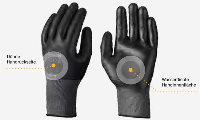 Snickers Workwear 9303 9304 Power Flex Guard Handschuh