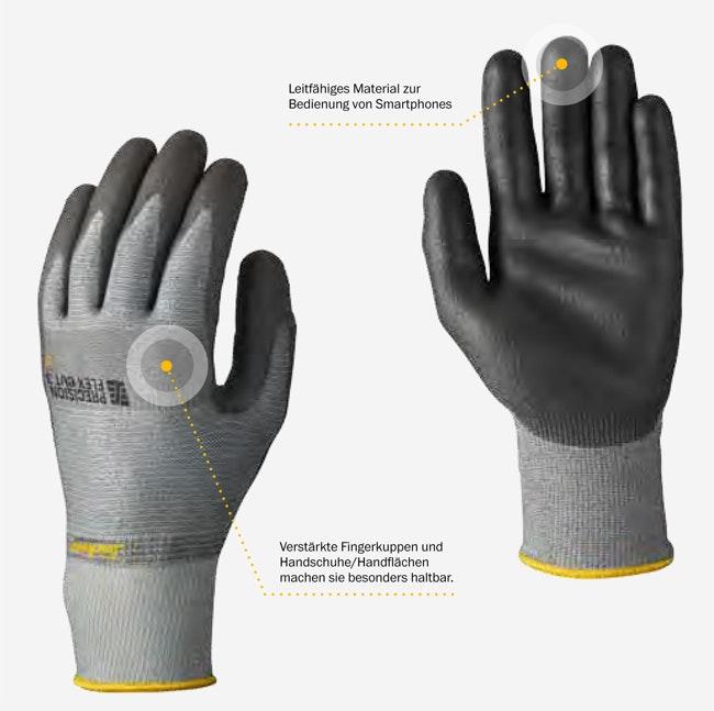 Snickers Workwear 9307 9308 Precision Flex Cut 3 Handschuh