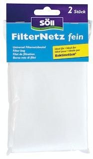 Söll FilterNetz, fein, 2 Stück, weiß