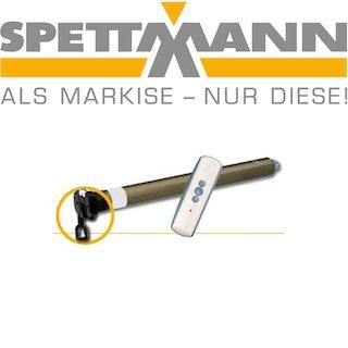 """SPETTMANN Elektromotor """"DE LUXE PLUS"""" mit Schalter und Nothandkurbel"""