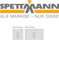 SPETTMANN Montageplatten zur Befestigung auf Porenbeton