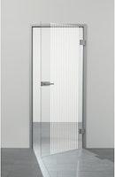 SPRINZ Ganzglasdrehtür Landau Sondermaß max 1000x2200mm Weißglas