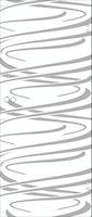 SPRINZ Ganzglasschiebetür Lörrach Sondermaß max 1000x2200mm Weißglas