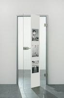SPRINZ Digitaldruck- Ganzglasdrehtürer Motiv LIST